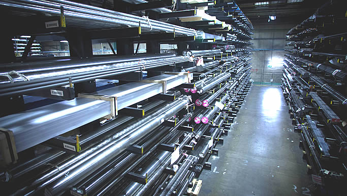 We offer our customers a substantial aluminium stock range which is readily available for global shipment