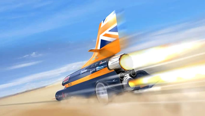 We supply engineering materials to the Bloodhound SSC Project
